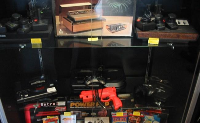 On Gamestop Selling Retro Games Black Box