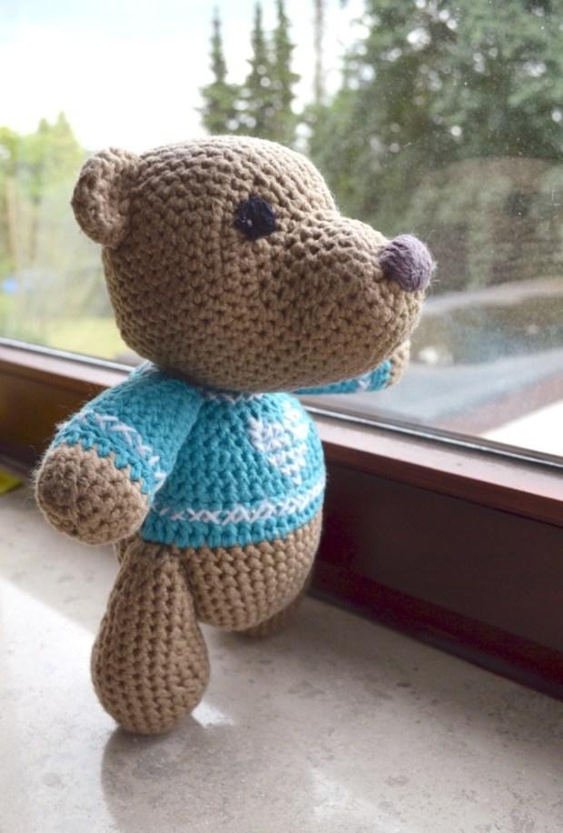 Teddy selber häkeln