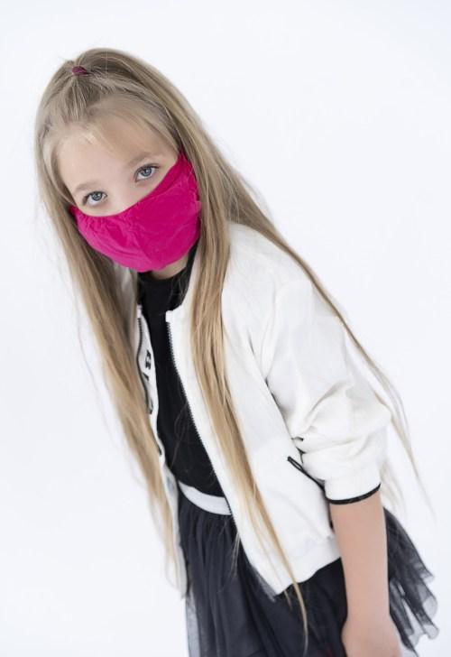 KIDS Maseczka dziecięca ochronna wielorazowa - kolor do wyboru
