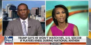 Burgess Owens compares Roger Goodell to Bill de Blasio Hes a leftist