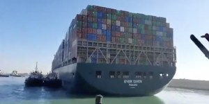 Ship blocking Suez Canal finally freed