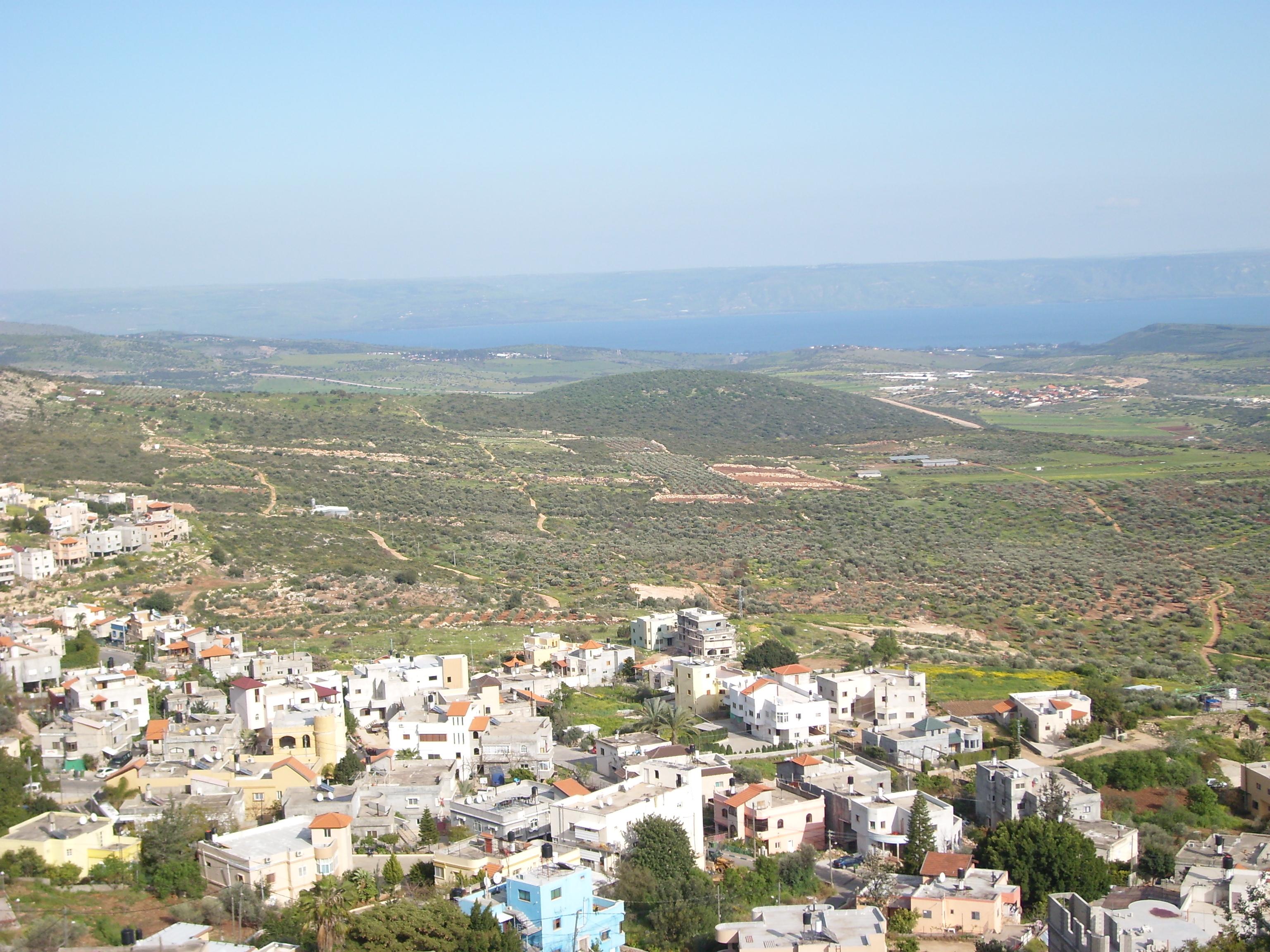 sea of Galilee, northern historic Palestine