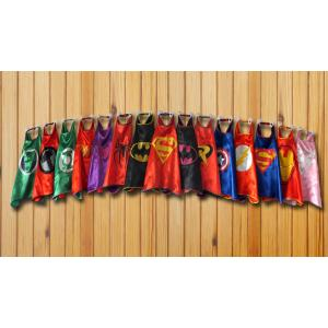Marvellous New Print Logo Custom Superhero Cape Boys Costume