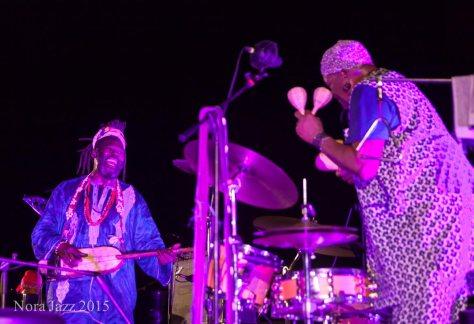 Baba Sissolo & Don Moye - Nora Jazz Festival 2015