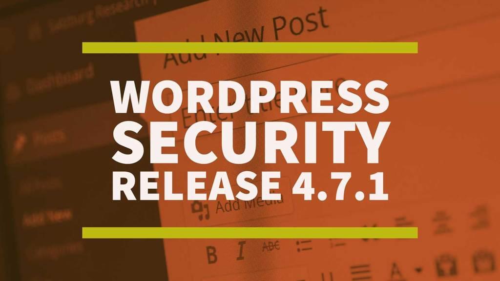 WordPress-Security-Release