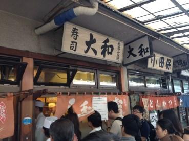 Daiwa Sushi in Tsukiji's inner market