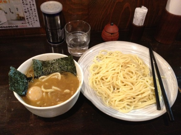 Excellent tsukemen at Fuunji in Shinjuku