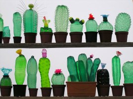 plastic-bottle-sculpture-recycled-object-by-veronika-richterova
