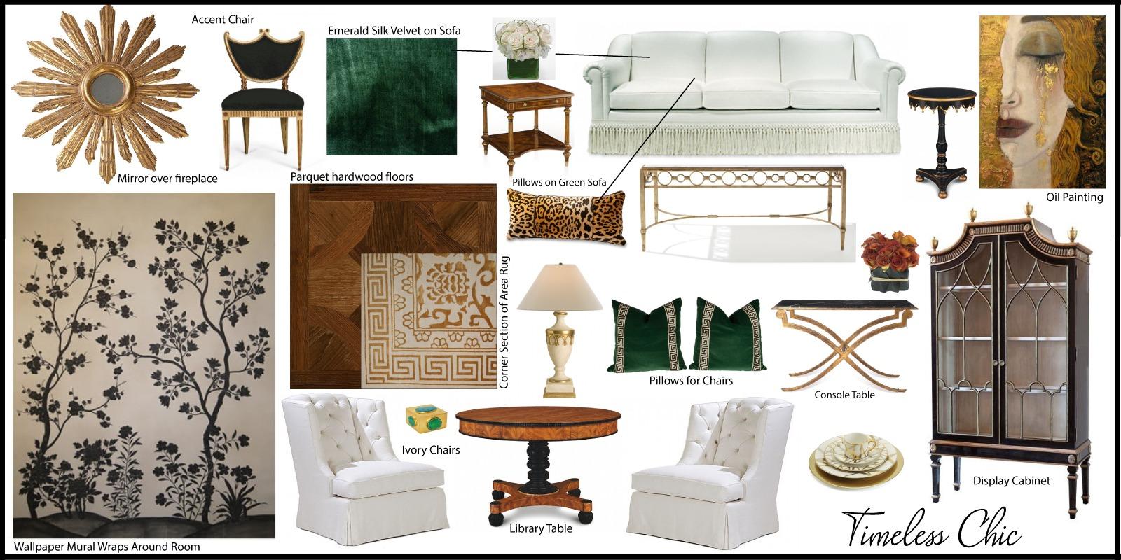 Interior Design Vision Boards By Nora Stewart Interiors