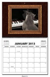 January Calendar Page