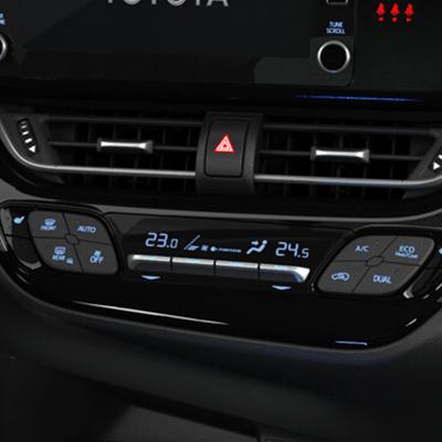 CLIMATIZADOR DUAL   Elige diferentes temperaturas para el piloto y copiloto.