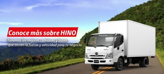 Los mejores camiones y buses Hino.