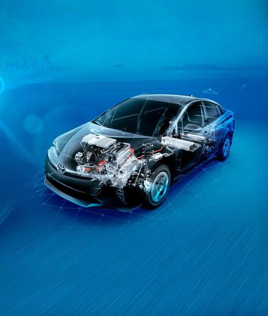 ¿Qué es un auto híbrido?