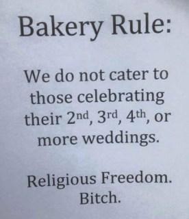 Religious Freedom - Bakery