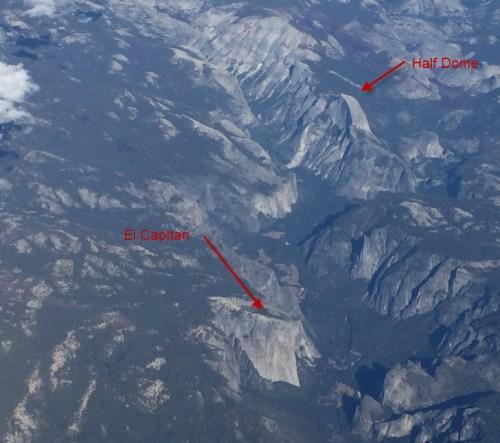 Yosemite from Plane 3