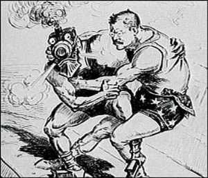 Roosevelt luchando con los monopolios ferrocarrileros