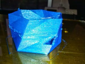 Primer intento impresión 3d