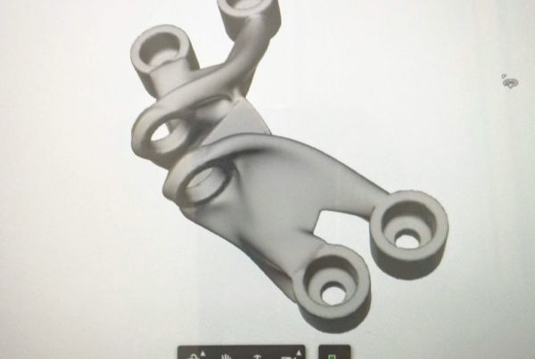 GE bracket Generative Design with Fusion 360