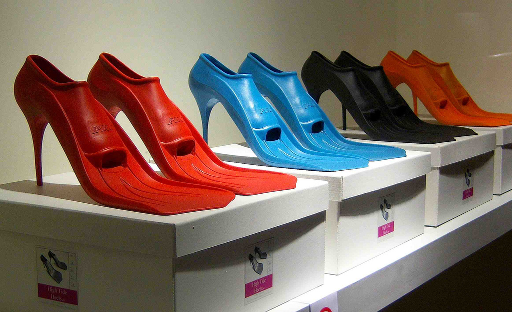 High Tide heels