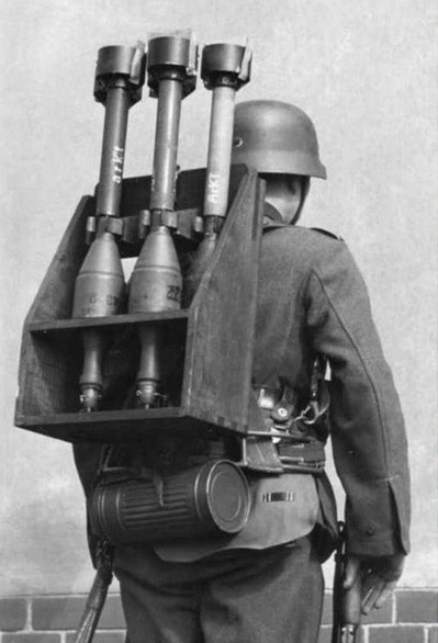 panzerschreck backpack