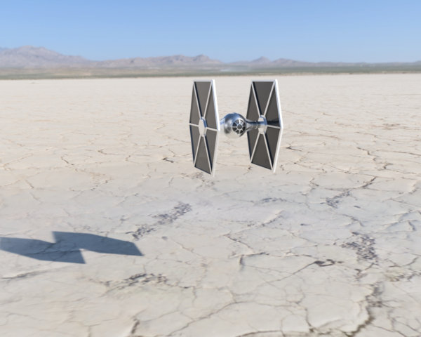 Tie Fighter en Fusion 360