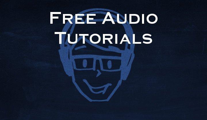 Free audio tutorials 720x420