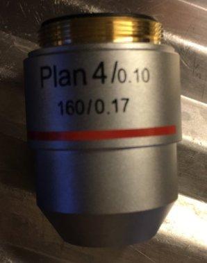 Mikroskop-10-Plan-objektiv
