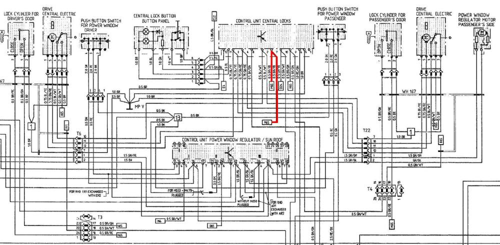 medium resolution of porsche circuit diagram wiring automotive wiring diagrams porsche 356 wiring harness porsche boxer 986 model circuit