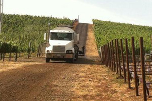 dust control for your vineyard - norcal ag services - serving northern and central california