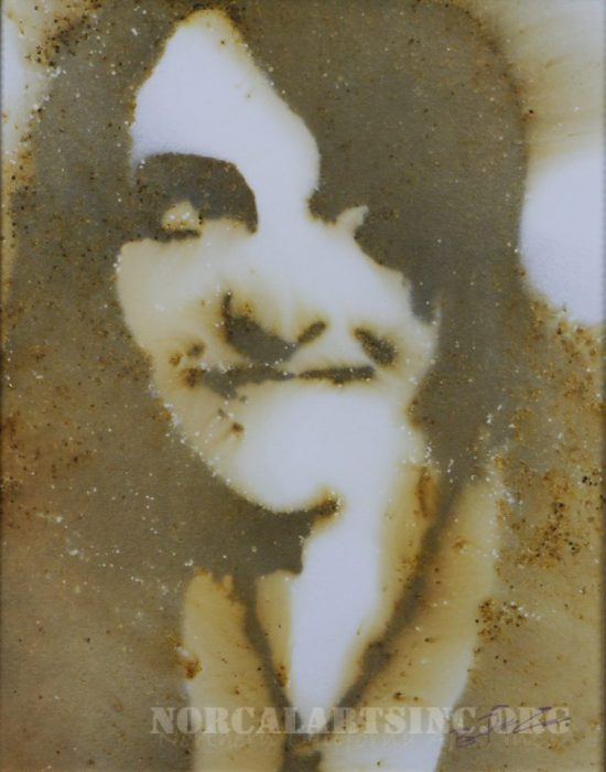 Brandi Pfleider, self portrait, gunpowder