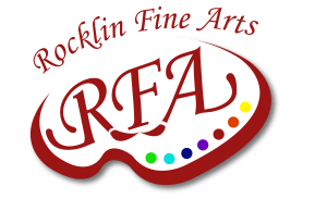 Rocklin Fine Arts logo