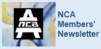 Logo for NCA with words NCA Members' Newsletter