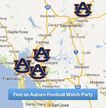 Find an Auburn Football Watch Party