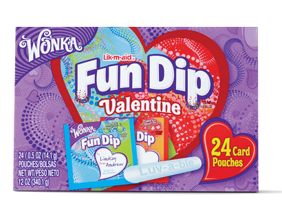 Wonka Valentines Day Candy Card Kits As Low As 113 Each