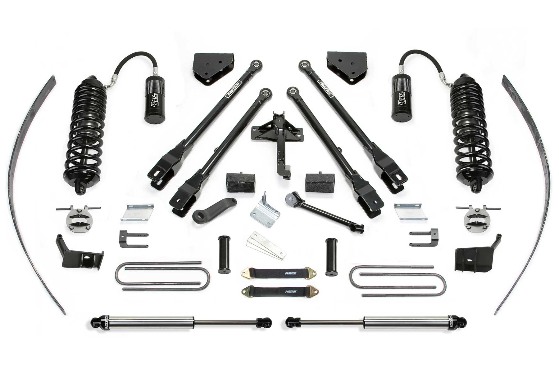 Fabtech 16 Ford F250 4wd 8 4 Link System W Front