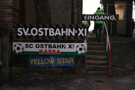 Eingang Ostbahn XI Platz