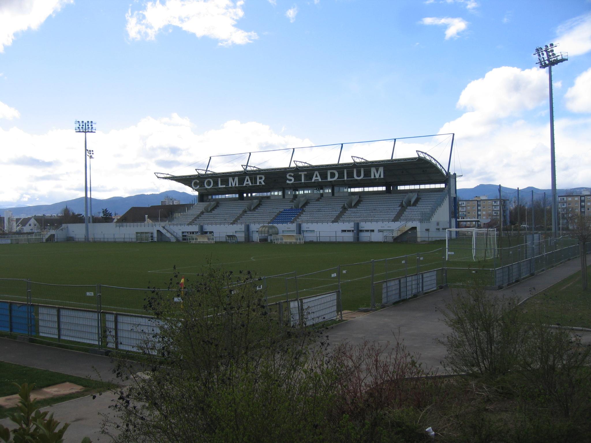 PARC DES SPORTS DE COLMAR, STADIUM 1