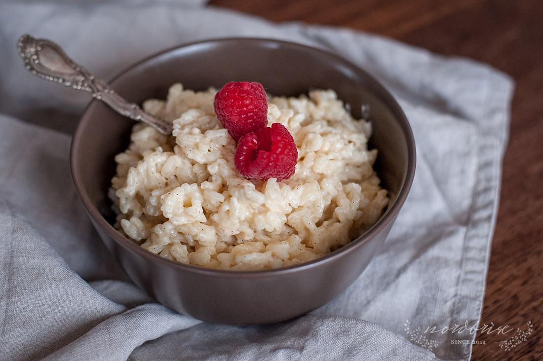 Childhood Memories with Vanilla Rice Pudding by Eve | nordbrise.net (Kindheitserinnerungen mit Vanille Milchreis)