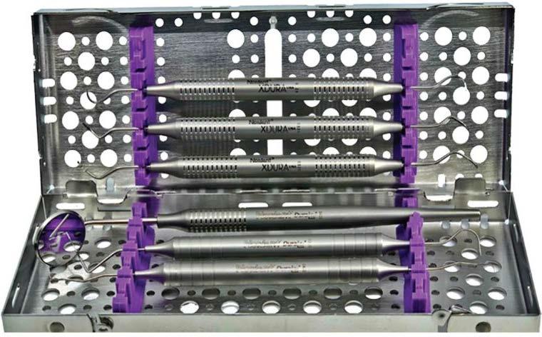 Dental hygiene instrument kit