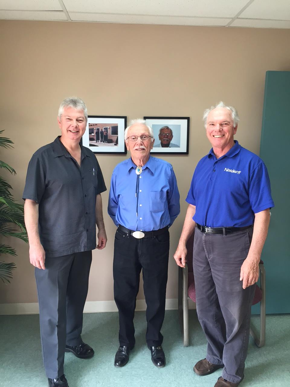 Peter Martin (founder, center) with sons Rich Martin (left) and Joe Martin (right)