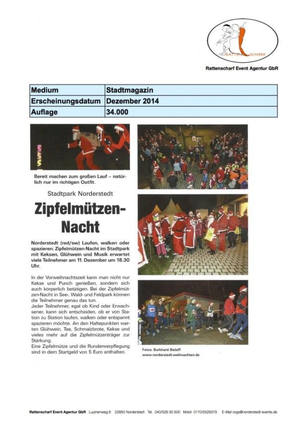 Stadtmagazin Dezember 2014