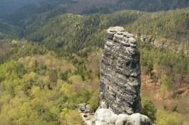 Felsen Richtung Westen