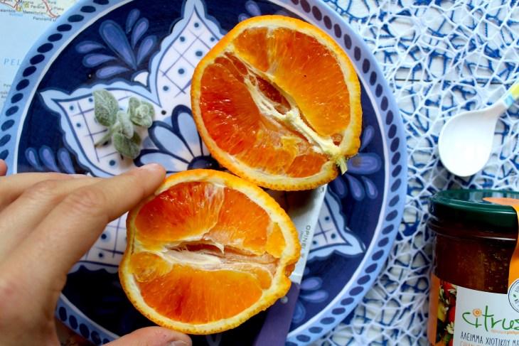 Torta-caprese-con-mandarini-greci