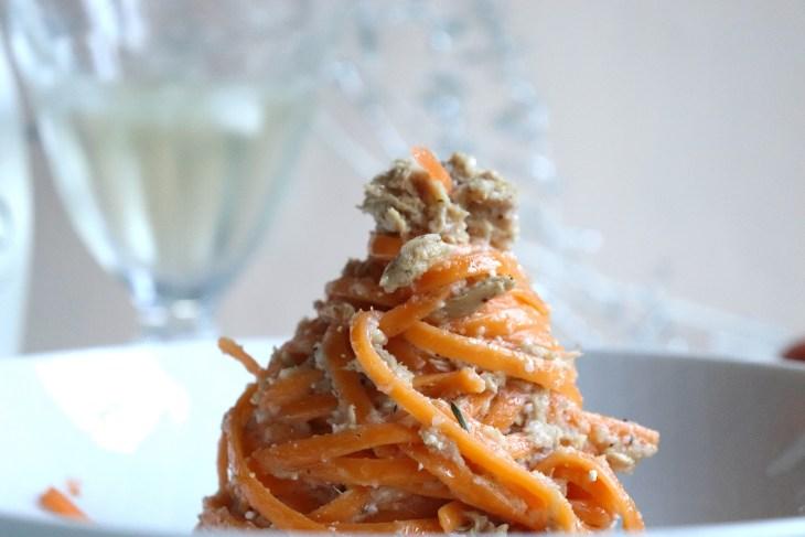 Linguine-all-arancia-con-ventresca-di-tonno