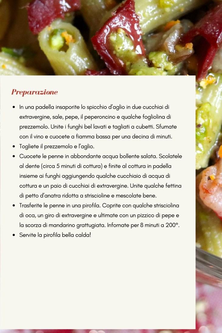 ricetta-penne-pistacchio-e-anatra