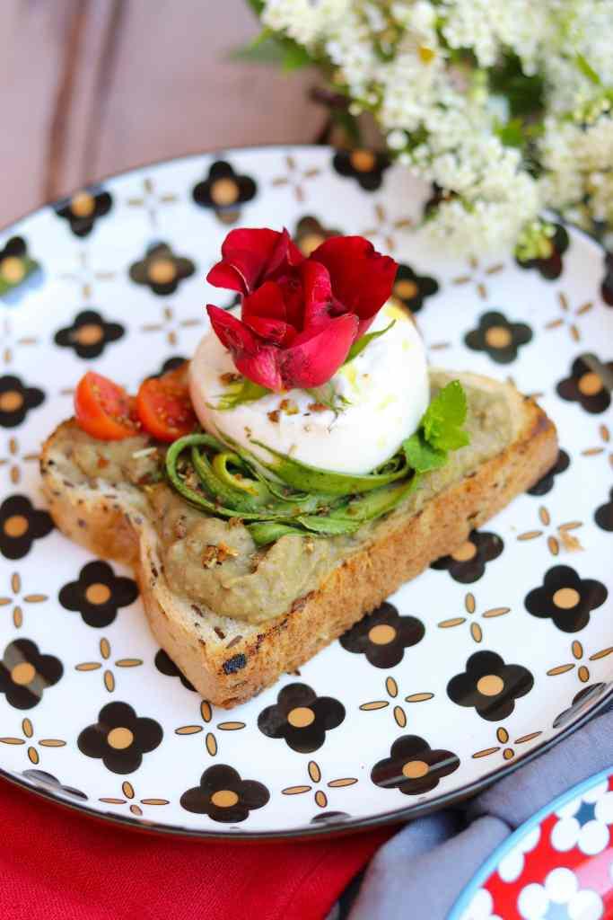 burrata toast