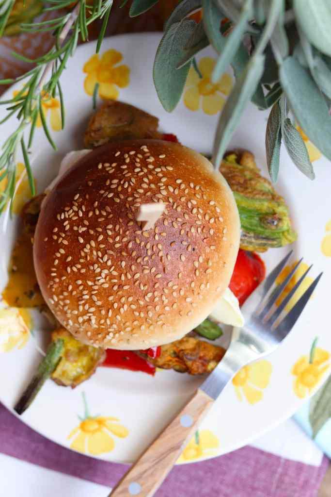 hamburger con pate di lampascioni