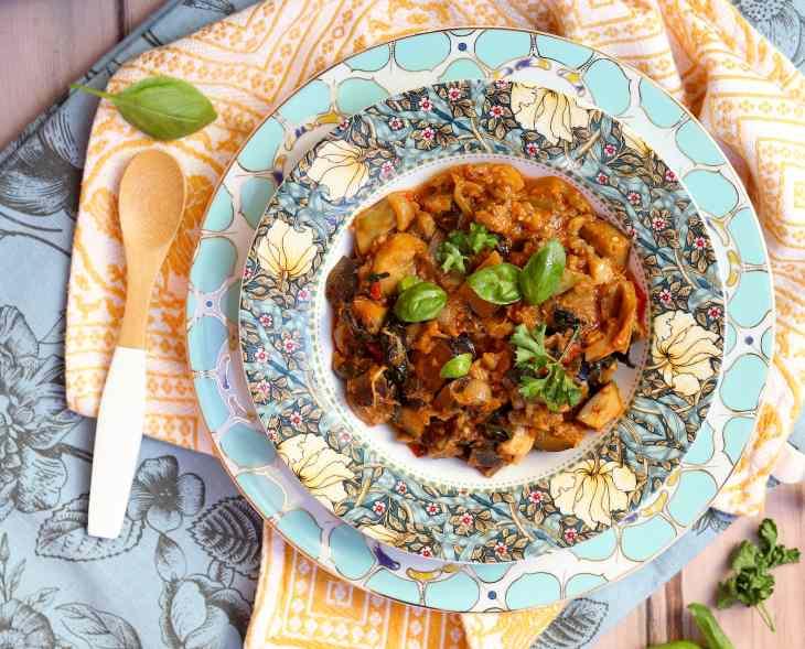 piatto marocchino zaaluk