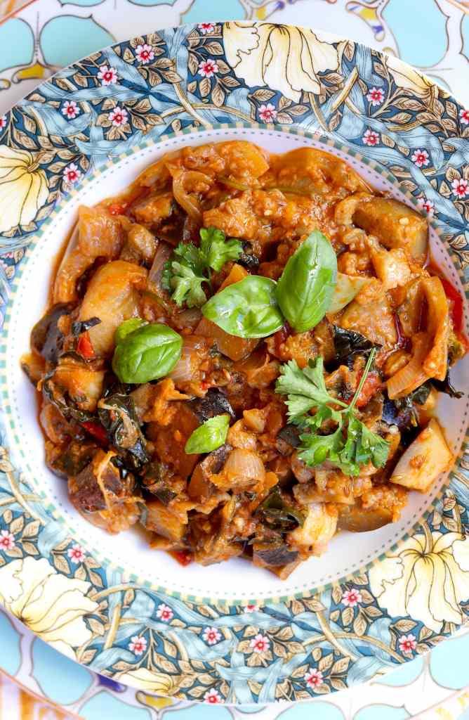 ricetta zaalouk marocchina