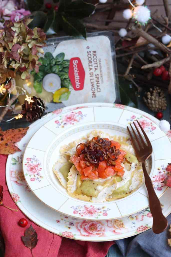 ravioli ricetta scoiattolo